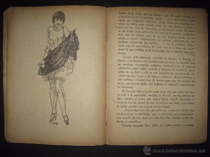 Libros antiguos: LA NOVELA EXQUISITA - LOS SACRIFICIOS DE UNA ARTISTA - NUMERO 74 - ILUSTRACIONES DE ZALA - Foto 8 - 50637494
