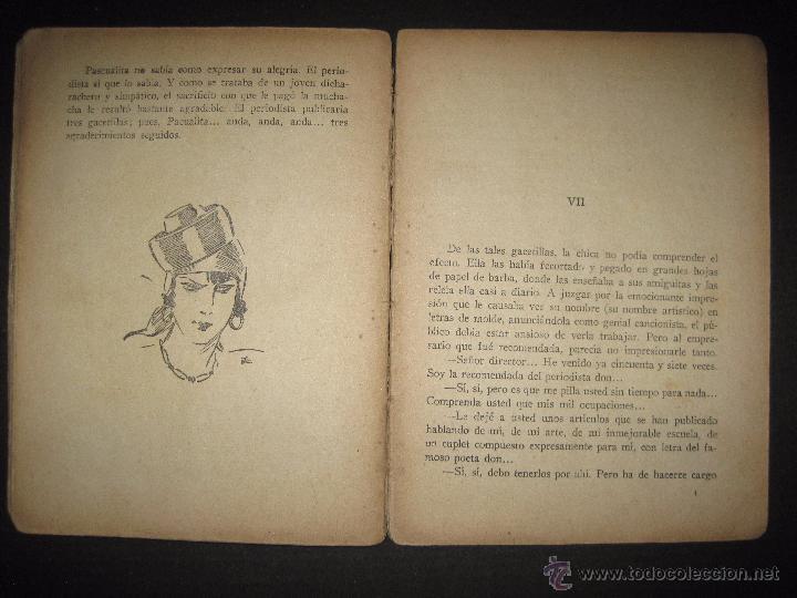 Libros antiguos: LA NOVELA EXQUISITA - LOS SACRIFICIOS DE UNA ARTISTA - NUMERO 74 - ILUSTRACIONES DE ZALA - Foto 9 - 50637494