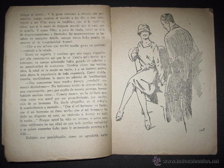Libros antiguos: LA NOVELA EXQUISITA - EL PODER DEL EJEMPLO - NUMERO 82 - ILUSTRACIONES DE EROS - Foto 3 - 50637632