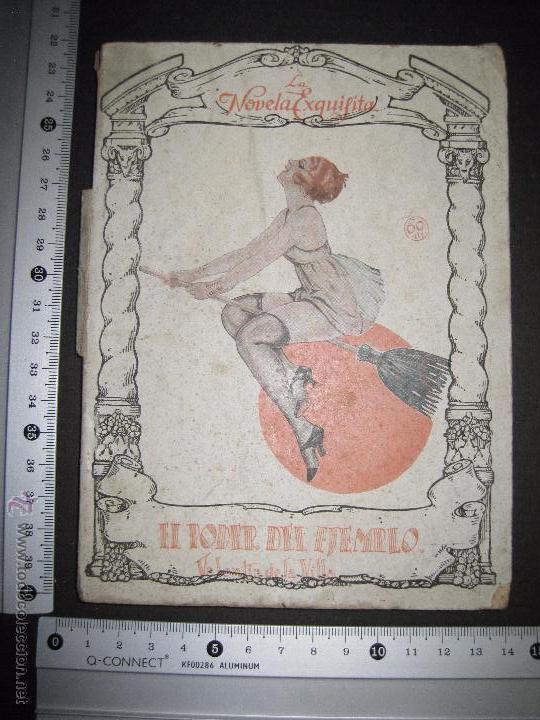 Libros antiguos: LA NOVELA EXQUISITA - EL PODER DEL EJEMPLO - NUMERO 82 - ILUSTRACIONES DE EROS - Foto 8 - 50637632