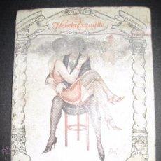 Libros antiguos: LA NOVELA EXQUISITA - LAS HISTERICAS - NUMERO 77 - ILUSTRACIONES DE PAN . Lote 50637663