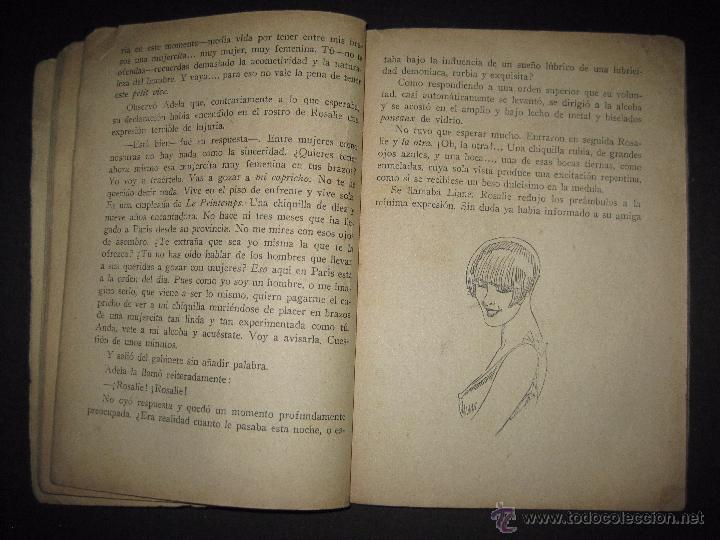 Libros antiguos: LA NOVELA EXQUISITA - LAS HISTERICAS - NUMERO 77 - ILUSTRACIONES DE PAN - Foto 4 - 50637663