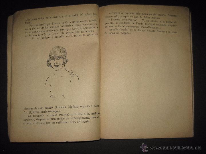 Libros antiguos: LA NOVELA EXQUISITA - LAS HISTERICAS - NUMERO 77 - ILUSTRACIONES DE PAN - Foto 5 - 50637663