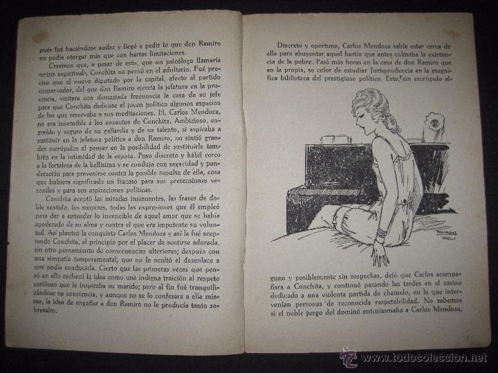 Libros antiguos: LA NOVELA EXQUISITA - LA COMBINACON ROSA - NUMERO 4 - ILUSTRACIONES DE PENAGOS - Foto 3 - 50637802