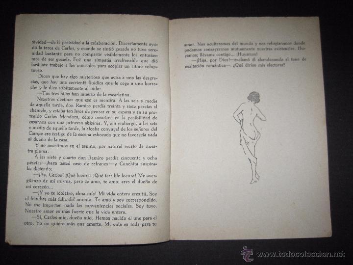 Libros antiguos: LA NOVELA EXQUISITA - LA COMBINACON ROSA - NUMERO 4 - ILUSTRACIONES DE PENAGOS - Foto 4 - 50637802