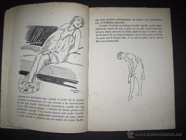 Libros antiguos: LA NOVELA EXQUISITA - LA COMBINACON ROSA - NUMERO 4 - ILUSTRACIONES DE PENAGOS - Foto 6 - 50637802