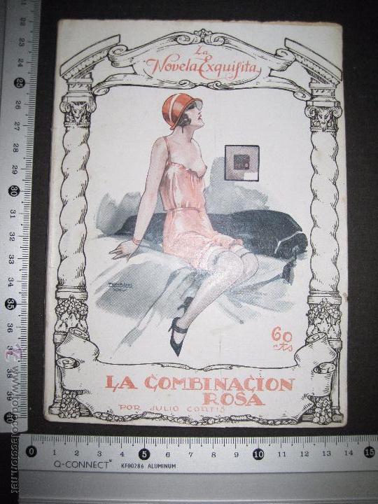 Libros antiguos: LA NOVELA EXQUISITA - LA COMBINACON ROSA - NUMERO 4 - ILUSTRACIONES DE PENAGOS - Foto 8 - 50637802
