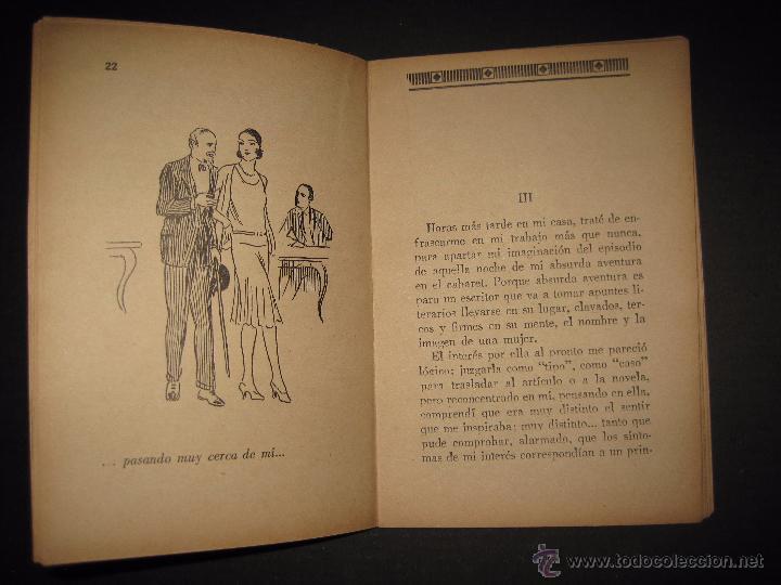 Libros antiguos: LA NOVELA PARA TODOS - UNA MUJER EXTRAÑA - NUMERO 6- ILUSTRACIONES DE FARRELL - Foto 4 - 50638177