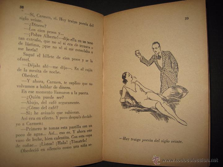 Libros antiguos: LA NOVELA PARA TODOS - UNA MUJER EXTRAÑA - NUMERO 6- ILUSTRACIONES DE FARRELL - Foto 5 - 50638177