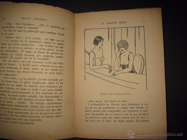Libros antiguos: LA NOVELA PASIONAL - EL AMANTE IDEAL - NUMERO 38- ILUSTRACIONES DE DURAN - Foto 3 - 109014030