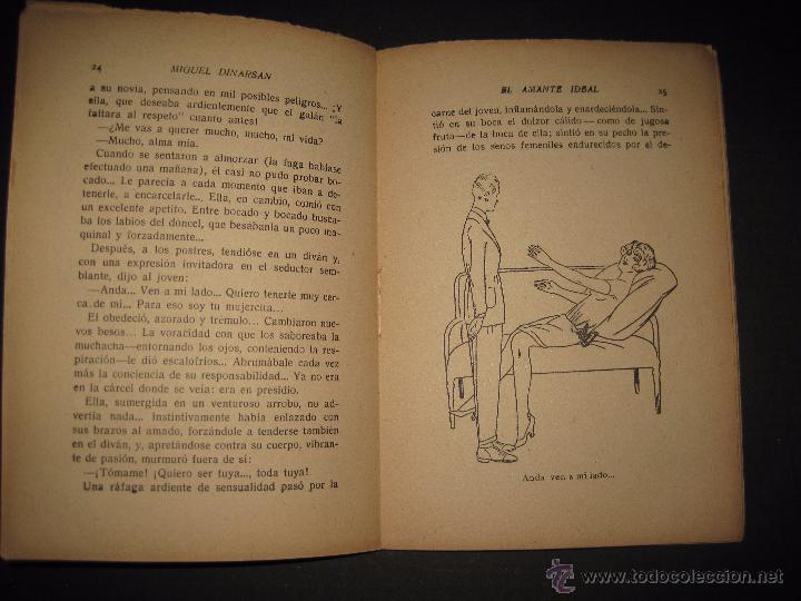 Libros antiguos: LA NOVELA PASIONAL - EL AMANTE IDEAL - NUMERO 38- ILUSTRACIONES DE DURAN - Foto 4 - 109014030