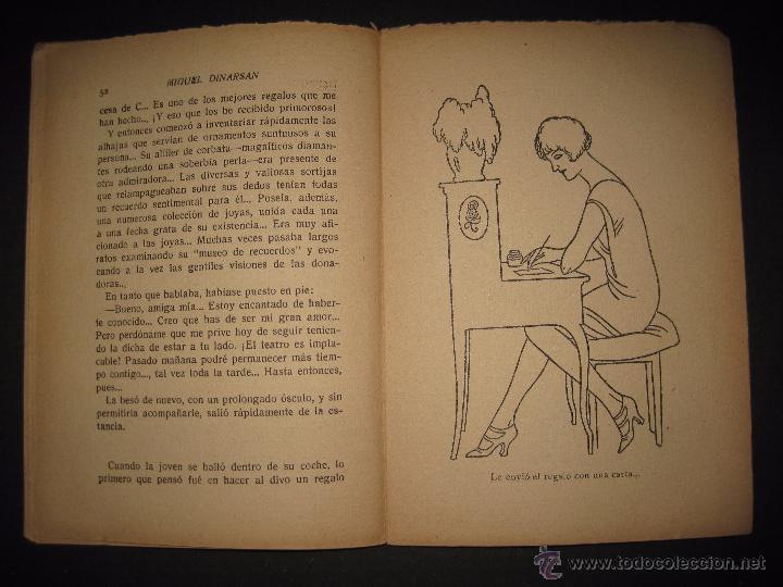 Libros antiguos: LA NOVELA PASIONAL - EL AMANTE IDEAL - NUMERO 38- ILUSTRACIONES DE DURAN - Foto 5 - 109014030