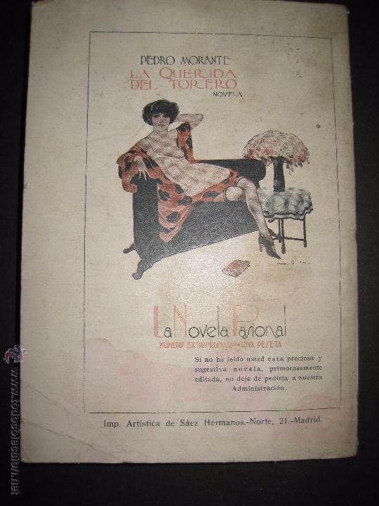 Libros antiguos: LA NOVELA PASIONAL - EL AMANTE IDEAL - NUMERO 38- ILUSTRACIONES DE DURAN - Foto 6 - 109014030