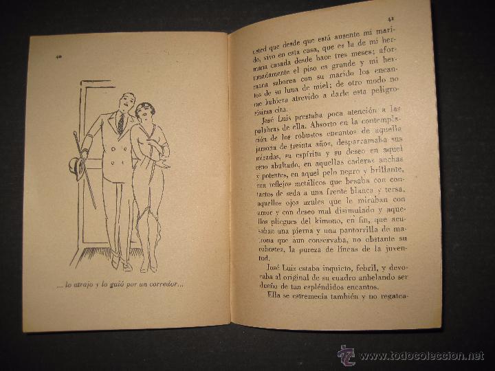 Libros antiguos: LA NOVELA EVA - UNA MORENA Y UNA RUBIA - NUMERO 14 - ILUSTRACIONES DE KIF - Foto 4 - 53371918
