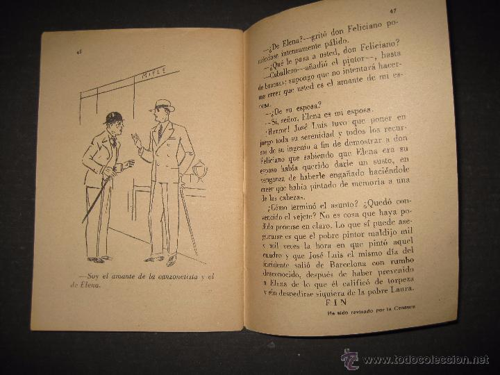 Libros antiguos: LA NOVELA EVA - UNA MORENA Y UNA RUBIA - NUMERO 14 - ILUSTRACIONES DE KIF - Foto 5 - 53371918