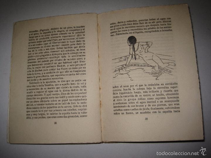 Libros antiguos: KORAN DE AMOR - NOVELA EROTISMO - JUAN G. OLMEDILLA - VER DIBUJOS - (V- 5235) - Foto 4 - 56258469