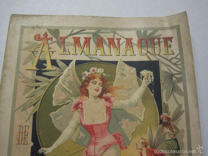 Libros antiguos: LA SAETA - ALMANAQUE 1903 - EROTISMO ... - VER FOTOS - (V-5506) - Foto 2 - 56701200