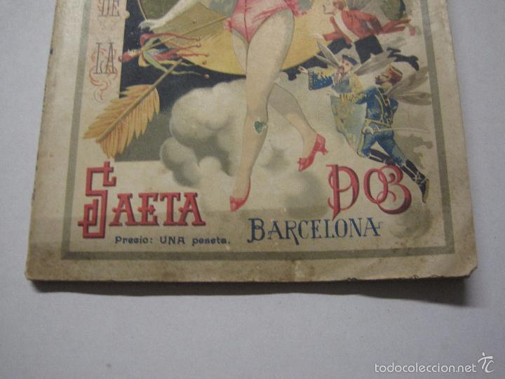 Libros antiguos: LA SAETA - ALMANAQUE 1903 - EROTISMO ... - VER FOTOS - (V-5506) - Foto 3 - 56701200