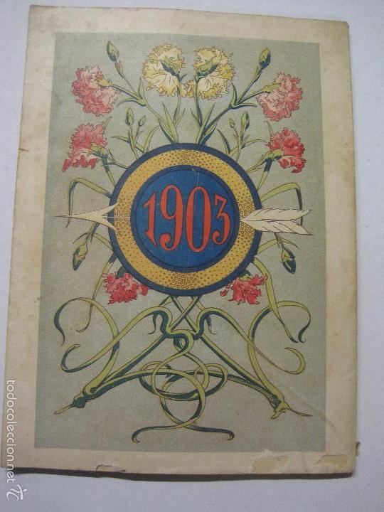 Libros antiguos: LA SAETA - ALMANAQUE 1903 - EROTISMO ... - VER FOTOS - (V-5506) - Foto 9 - 56701200