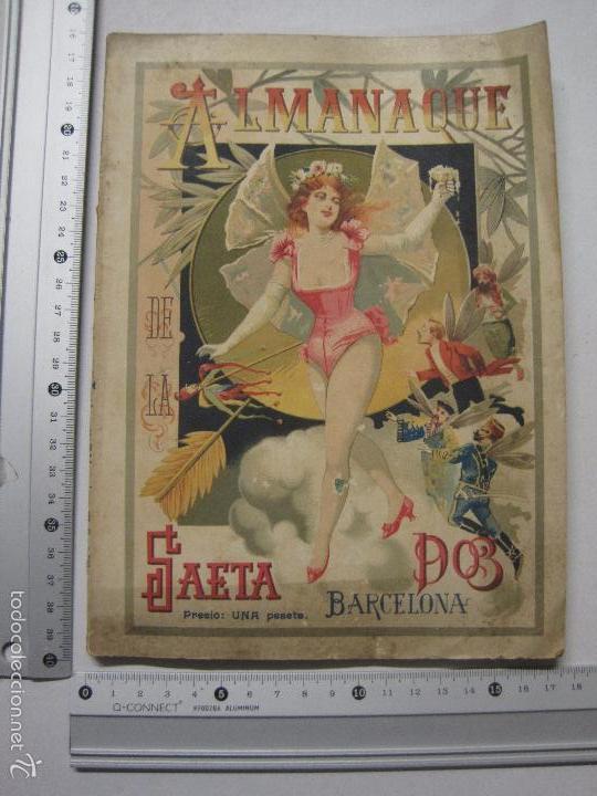 Libros antiguos: LA SAETA - ALMANAQUE 1903 - EROTISMO ... - VER FOTOS - (V-5506) - Foto 13 - 56701200