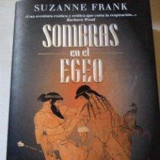 Libros antiguos: SOMBRAS EN EL EGEO SUZANNE FRANK. Lote 60272687