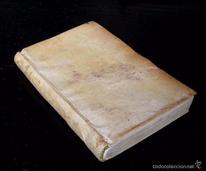 Libros antiguos: Raro - Venecia, 1578 - Aquiles Tacio: Leucipa y Clitofonte - Novela Erótica Bizantina - Pergamino - Foto 4 - 60379143