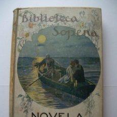 Libros antiguos: NOVELA EROTICA ALFONSO HERNÁNDEZ CATÁ BIBLIOTECA SOPENA Nº 24. Lote 62828544