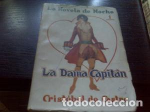 LA DAMA CAPITÁN / CRISTÓBAL DE CASTRO 1926 (Libros antiguos (hasta 1936), raros y curiosos - Literatura - Narrativa - Erótica)