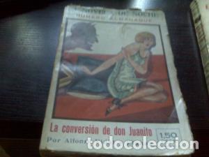 LA CONVERSIÓN DE DON JUANITO (Libros antiguos (hasta 1936), raros y curiosos - Literatura - Narrativa - Erótica)