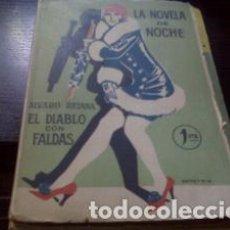 Libros antiguos: EL DIABLO CON FALDAS / ÁLVARO RETAMA 1924. Lote 66729742
