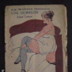 Libros antiguos: NOVELA GALANTE -NUM.101 -LOS GEMELOS - EROTISMO ANTIGUO .-VER FOTOS Y MEDIDA-(V-7578). Lote 67518773