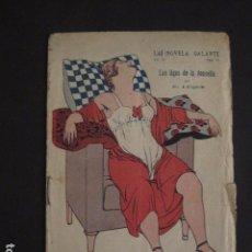 Libros antiguos: NOVELA GALANTE -NUM.102 -LAS LIGAS DE LA DONCELLA - EROTISMO ANTIGUO .-VER FOTOS Y MEDIDA-(V-7579). Lote 67518917