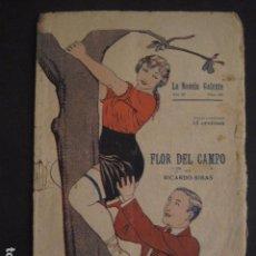 Libros antiguos: NOVELA GALANTE -NUM.104- FLOR DEL CAMPO - EROTISMO ANTIGUO .-VER FOTOS Y MEDIDA-(V-7580). Lote 67519033