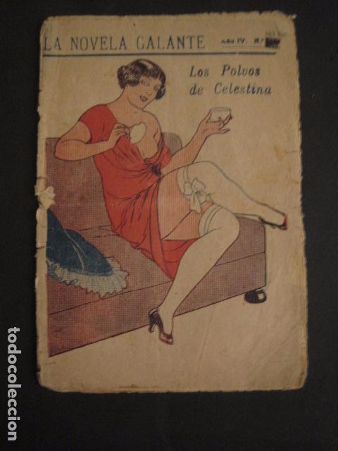 NOVELA GALANTE -NUM.163-BIS - LOS POLVOS DE CELESTINA-EROTISMO ANTIGUO-VER FOTOS Y MEDIDA-(V-7581) (Libros antiguos (hasta 1936), raros y curiosos - Literatura - Narrativa - Erótica)