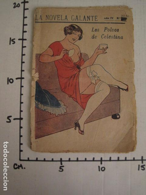 Libros antiguos: NOVELA GALANTE -NUM.163-BIS - LOS POLVOS DE CELESTINA-EROTISMO ANTIGUO-VER FOTOS Y MEDIDA-(V-7581) - Foto 7 - 67519233