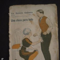 Libros antiguos: NOVELA GALANTE -NUM.97 - UNA CHICA PARA TODO -EROTISMO ANTIGUO-VER FOTOS Y MEDIDA-(V-7582). Lote 67519397
