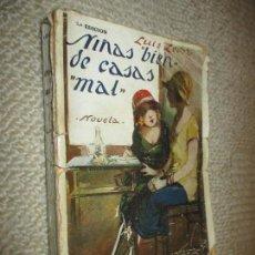 Libros antiguos: NIÑAS BIEN DE CASAS MAL, DE LUIS LEÓN, EDITORIAL MARINEDA, CIRCA 1920. Lote 70166509