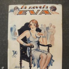 Libros antiguos: LA NOVELA DE EVA - NUM. 37 - LA MARQUESA CARITATIVA - ILUSTRACIONES KIF - VER FOTOS - (V-9200). Lote 77018317