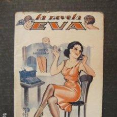 Libros antiguos: LA NOVELA DE EVA - NUM. 38 - UNA CHICA COMPLACIENTE - ILUSTRACIONES KIF - VER FOTOS - (V-9201). Lote 77020613