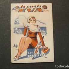 Libros antiguos: LA NOVELA DE EVA - NUM. 26 - LAS RODILLERAS - ILUSTRACIONES KIF - VER FOTOS - (V-9210). Lote 77035093