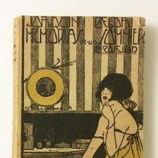 Libros antiguos: JOAQUÍN BELDA : MEMORIAS DE UN SOMMIER. (C. 1917) (EROTISMO. NOVELA ERÓTICA . Lote 77893041