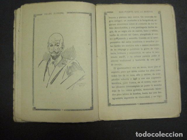 Libros antiguos: ILUSTRACIONES DE PENAGOS - LA NOVELA DE NOCHE- MAS FUERTE QUE LA MUERTE -VER FOTOS(V-10.712) - Foto 9 - 84724328