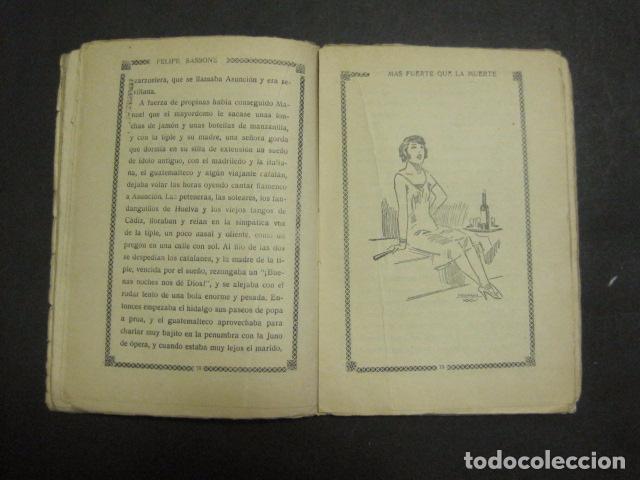 Libros antiguos: ILUSTRACIONES DE PENAGOS - LA NOVELA DE NOCHE- MAS FUERTE QUE LA MUERTE -VER FOTOS(V-10.712) - Foto 10 - 84724328