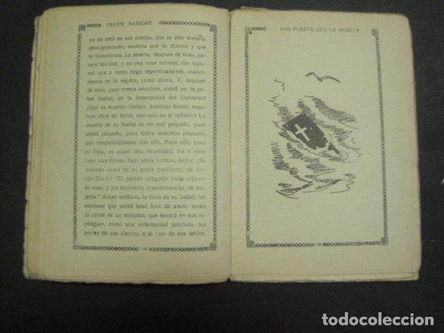 Libros antiguos: ILUSTRACIONES DE PENAGOS - LA NOVELA DE NOCHE- MAS FUERTE QUE LA MUERTE -VER FOTOS(V-10.712) - Foto 12 - 84724328