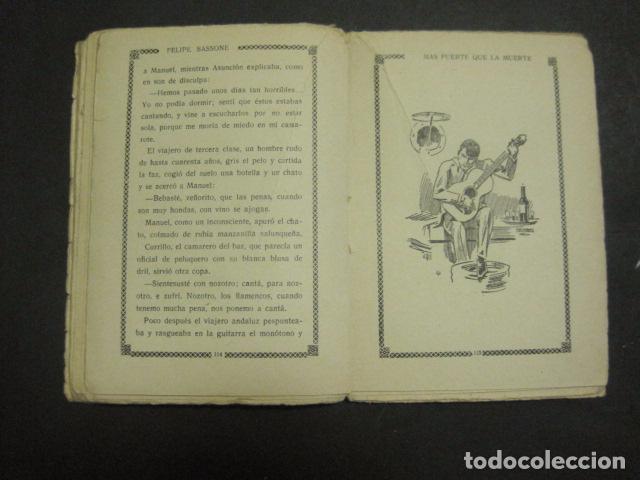 Libros antiguos: ILUSTRACIONES DE PENAGOS - LA NOVELA DE NOCHE- MAS FUERTE QUE LA MUERTE -VER FOTOS(V-10.712) - Foto 13 - 84724328