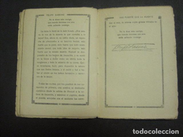 Libros antiguos: ILUSTRACIONES DE PENAGOS - LA NOVELA DE NOCHE- MAS FUERTE QUE LA MUERTE -VER FOTOS(V-10.712) - Foto 14 - 84724328