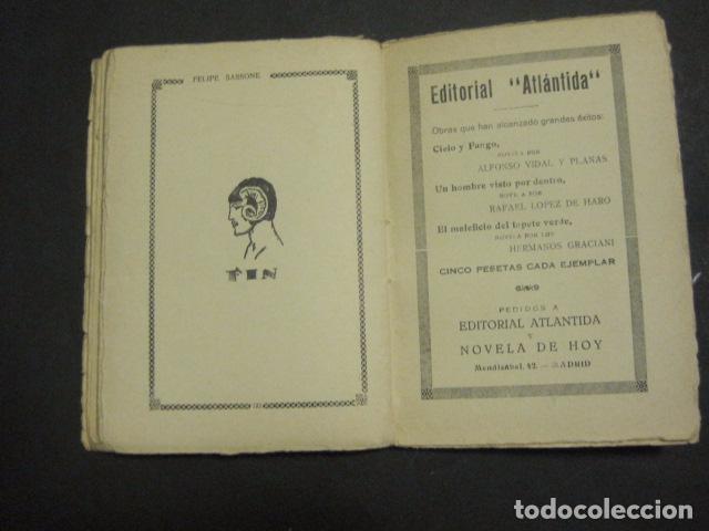 Libros antiguos: ILUSTRACIONES DE PENAGOS - LA NOVELA DE NOCHE- MAS FUERTE QUE LA MUERTE -VER FOTOS(V-10.712) - Foto 15 - 84724328