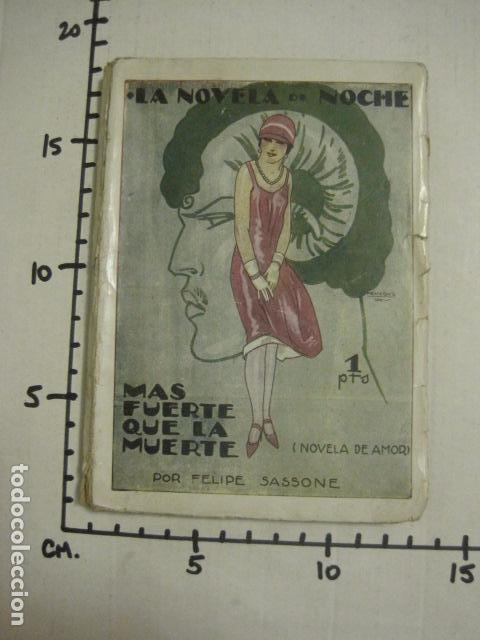Libros antiguos: ILUSTRACIONES DE PENAGOS - LA NOVELA DE NOCHE- MAS FUERTE QUE LA MUERTE -VER FOTOS(V-10.712) - Foto 17 - 84724328