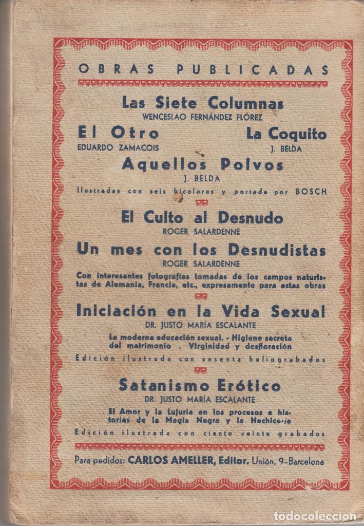 Libros antiguos: SODOMA Y LESBOS MODERNAS ANTONIO SAN VELILLA 1932 FOTOGRAFIAS ILUSTRACIONES - Foto 3 - 89638752