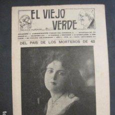 Libros antiguos: EL VIEJO VERDE - CRONICA MUNDANA - NUM. 20 - NOVIEMBRE 1914 - MADRID -VER FOTOS-(V- 11.638). Lote 89849664